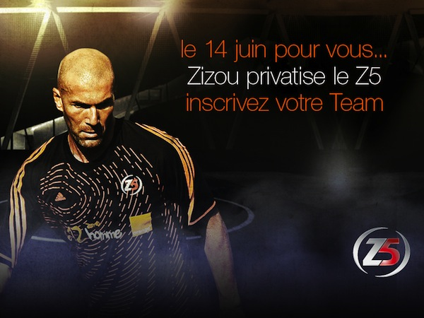 Zizou privatise le Z5