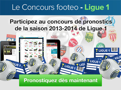 pronostics Ligue 1-footeo 2013-2014