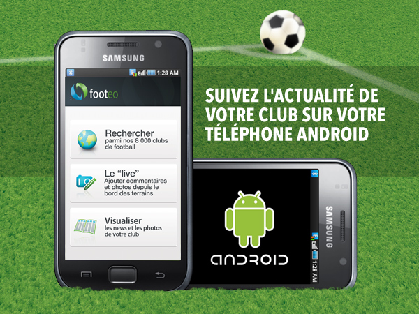 application mobile footeo