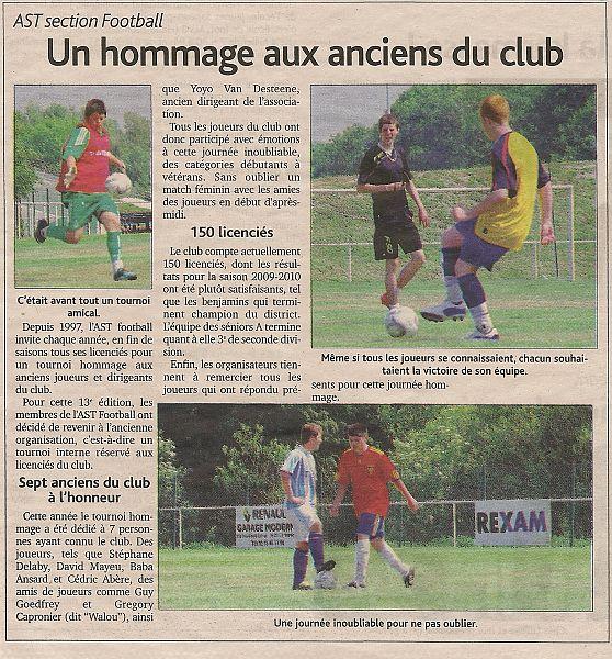 Tournoi Souvenir du 26 juin 2010