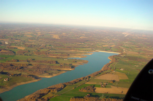 Le lac de la Gimone