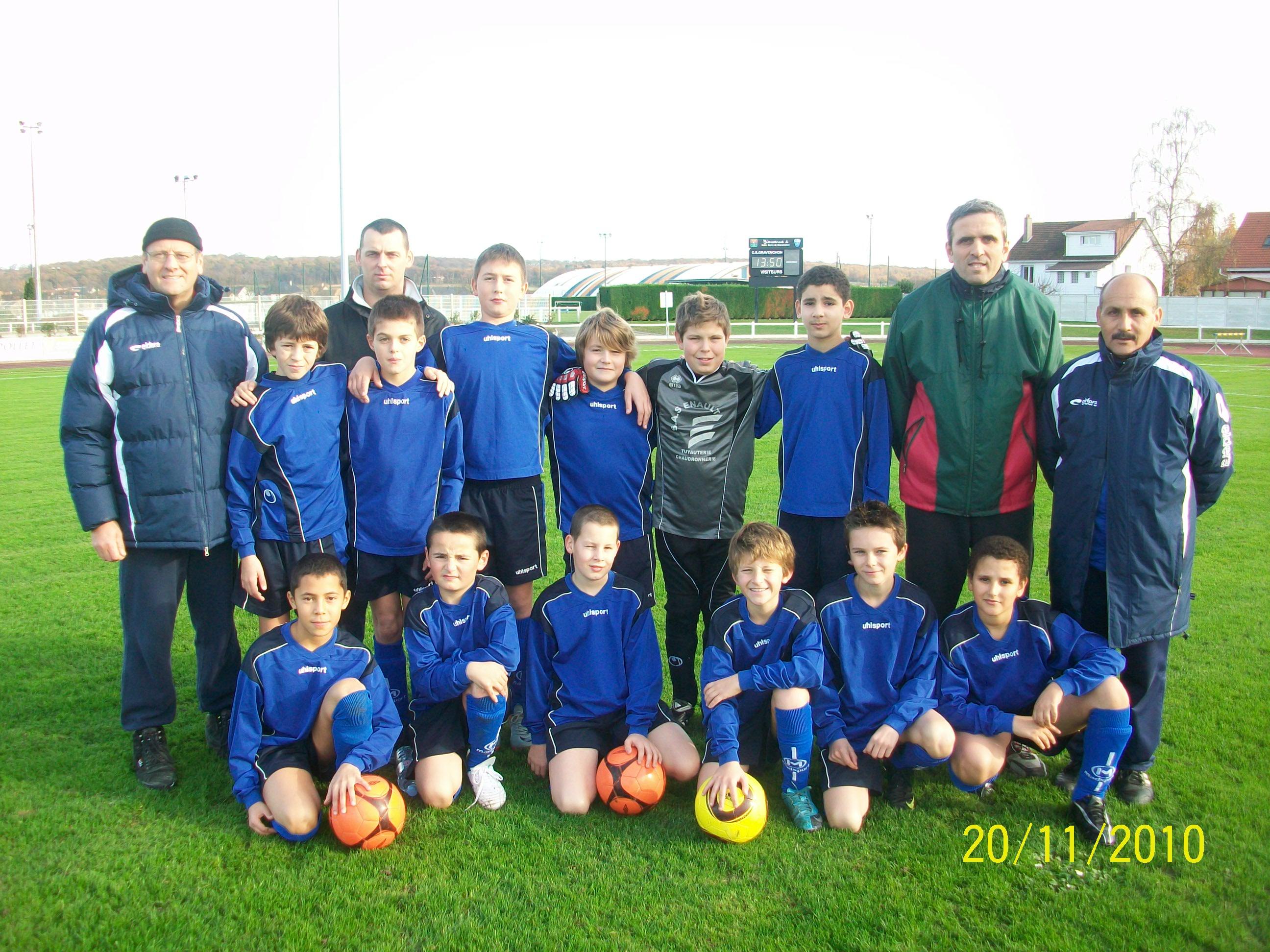 Les U13 Du Csg Football Club Football Cs Gravenchon Foot