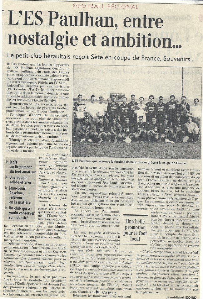 article coupe ste