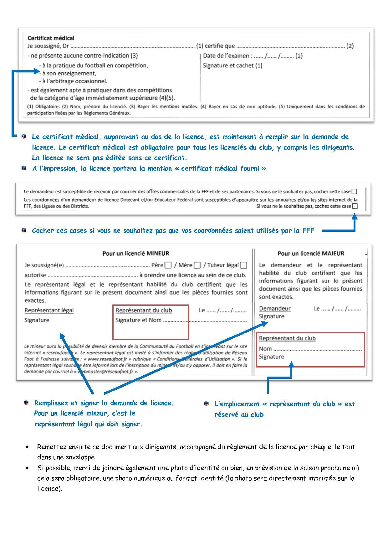 Procédure licence2