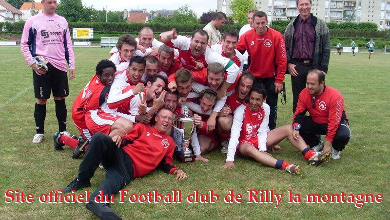 Suivez l'actualité du FC Rilly