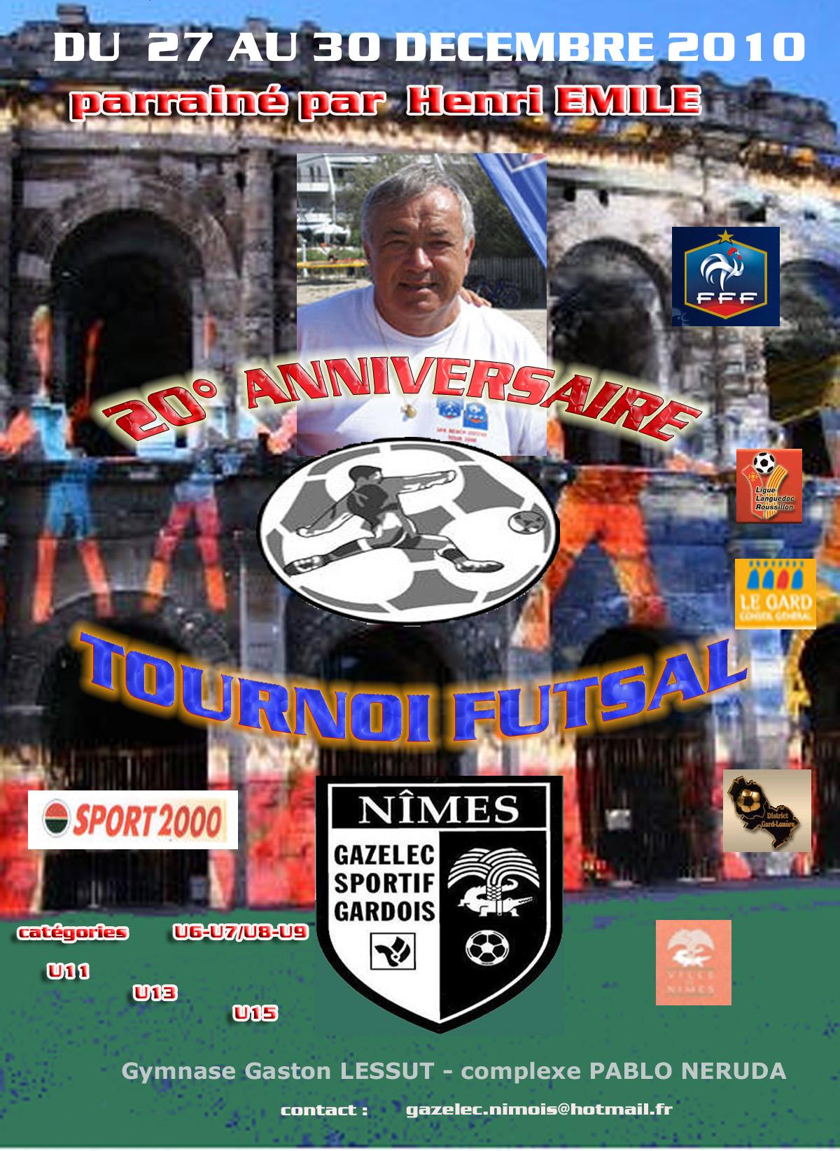 TOURNOI FUTSAL 2010