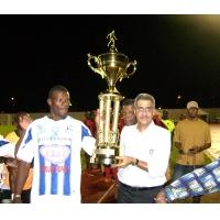La coupe des Guyanes remise par KARAM  président de la Région Guyane