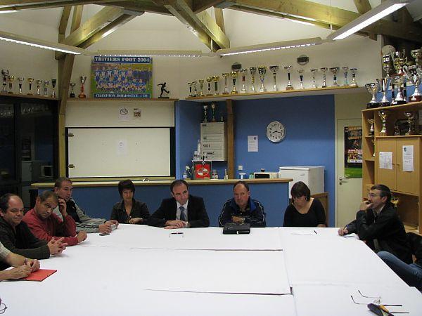 réunion 21 sept 2009