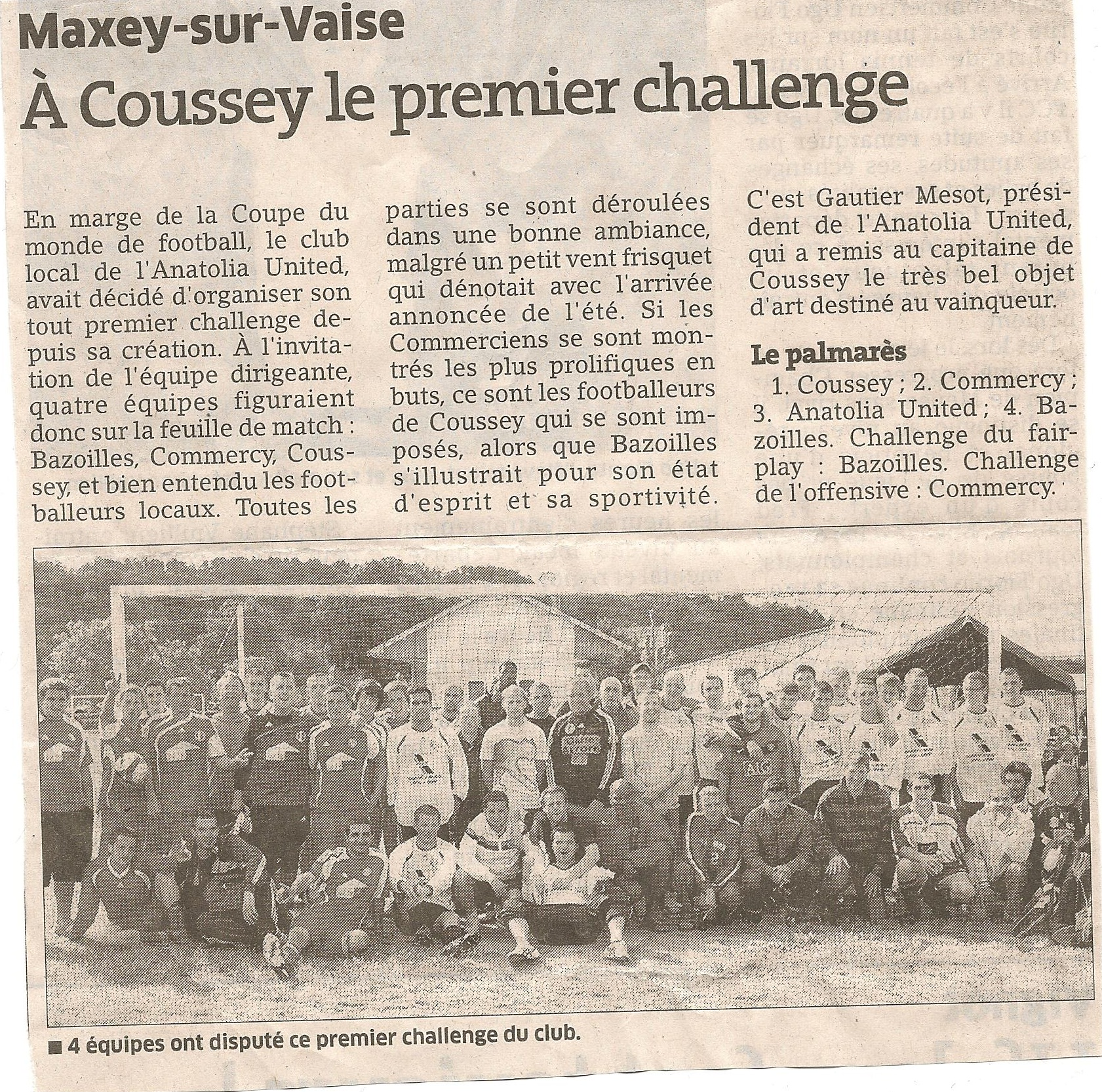 Premier Challenge de Maxey United