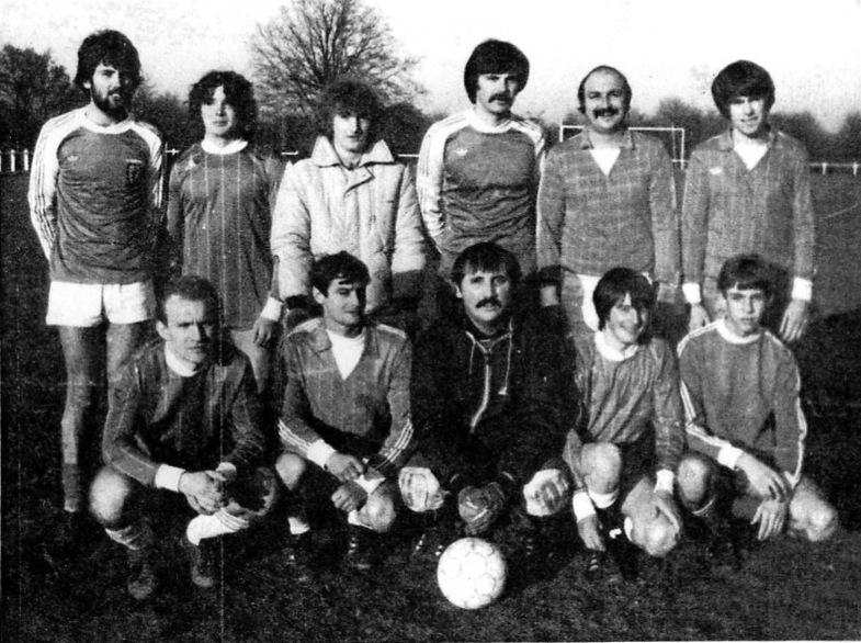 équipe B saison 1983 - 1984