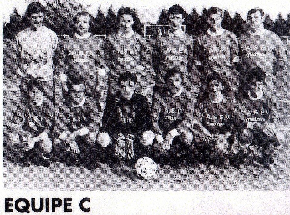 équipe C saison 1990 1991