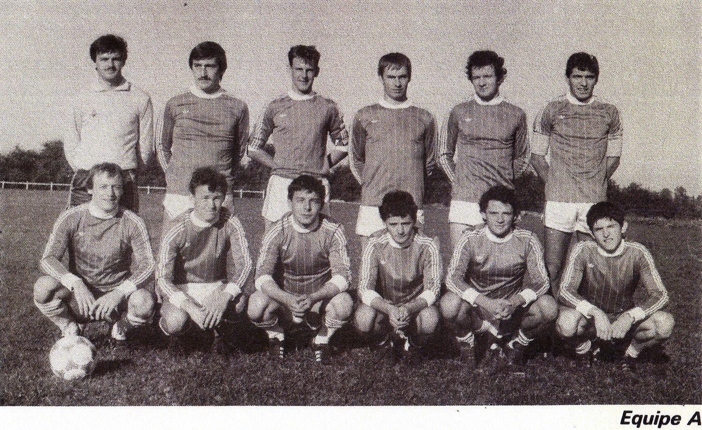 équipe A saison 1985 - 1986