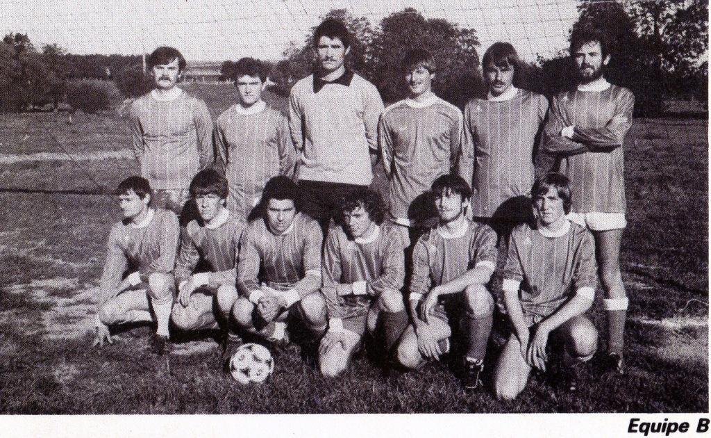 équipe B saison 1985 1986