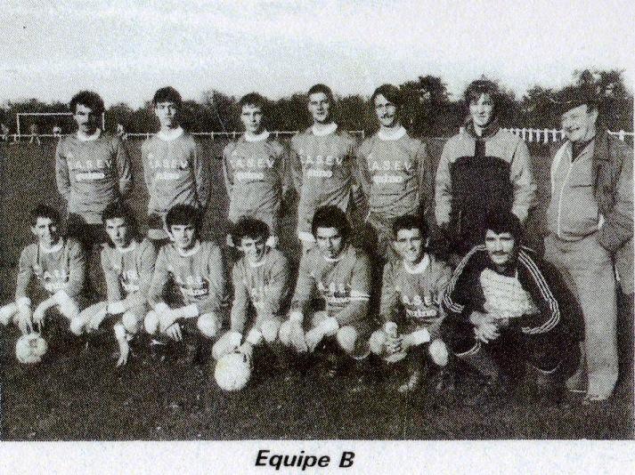 équipe B saison 1986 1987