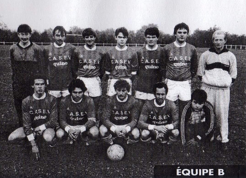 équipe B saison 1987 1988