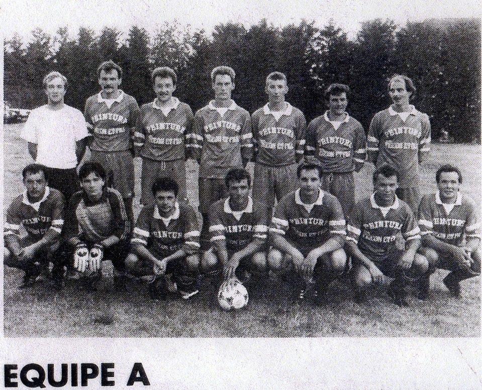 équipe A saison 1992