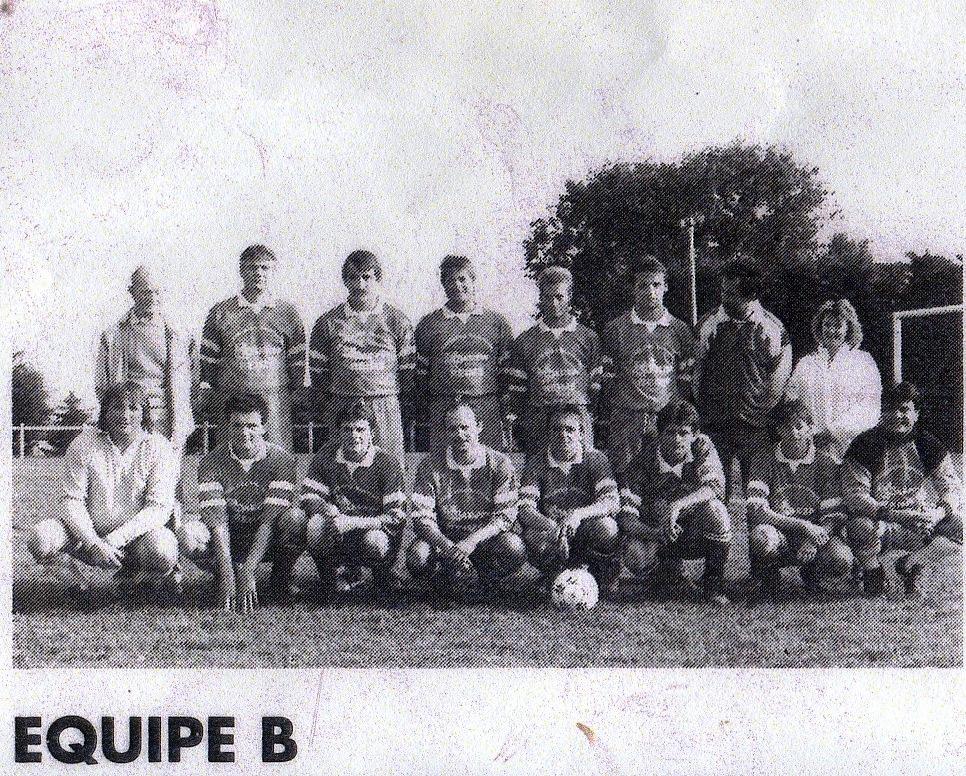 équipe B saison 1992