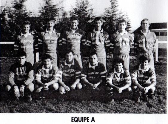 équipe A saison 1990