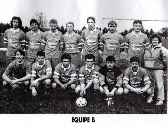 équipe B saison 1990