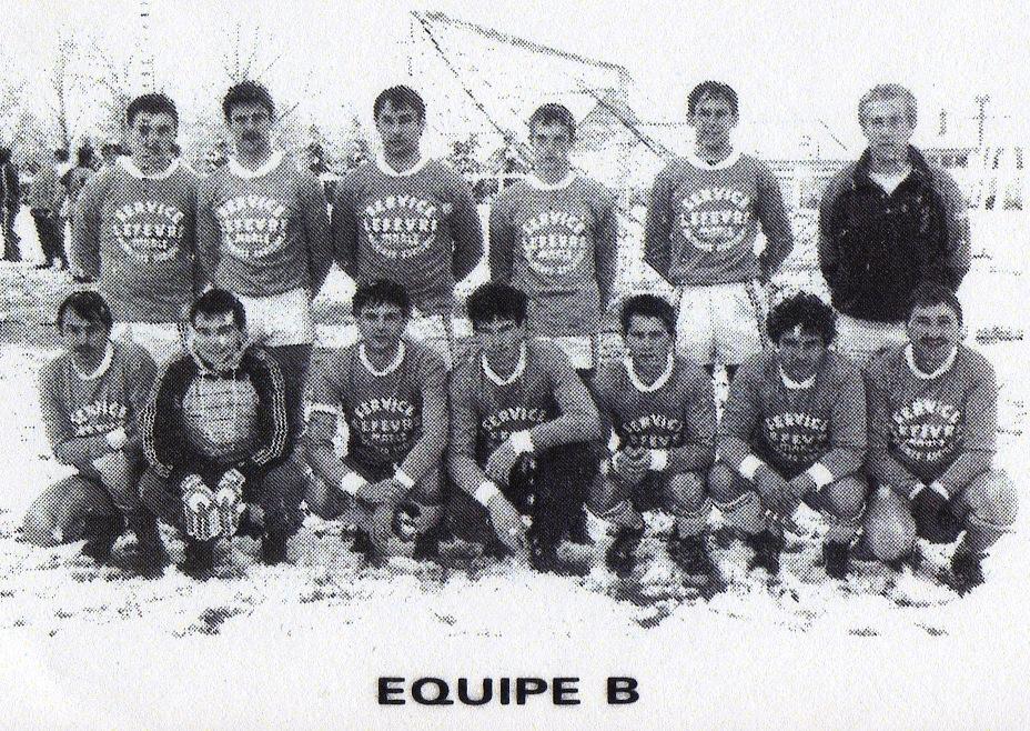 équipe B saison 1988 1989