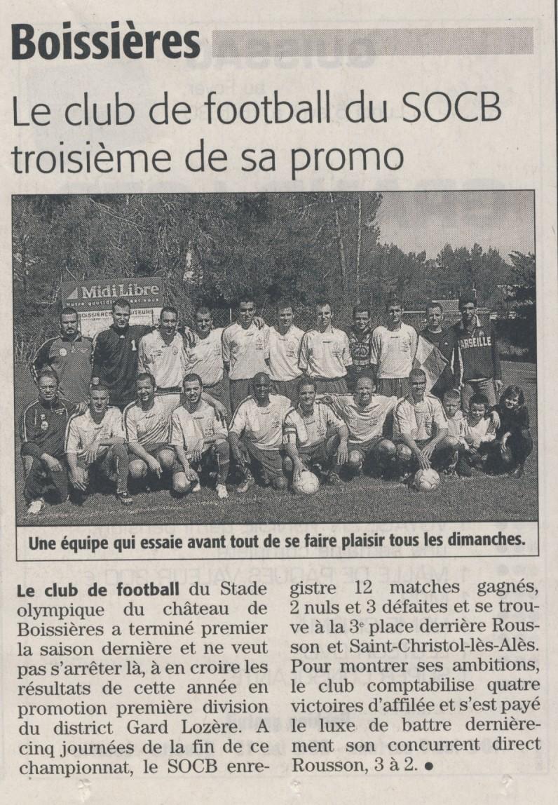 ARTICLE DU 05/04/2010