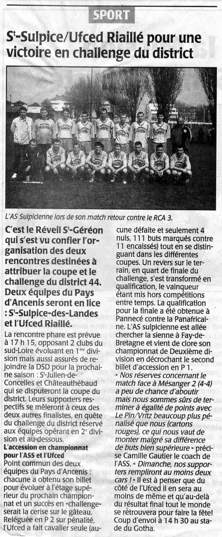 Presse-Océan 14/05/05
