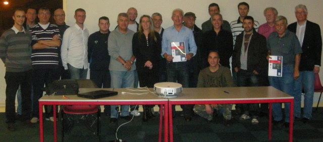 S. Richard et S. Dulac du district du Rhône ont validé l'engagement de l'UGA Decines pour le PAC 69