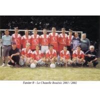 equipe 2 saison 2001/2002
