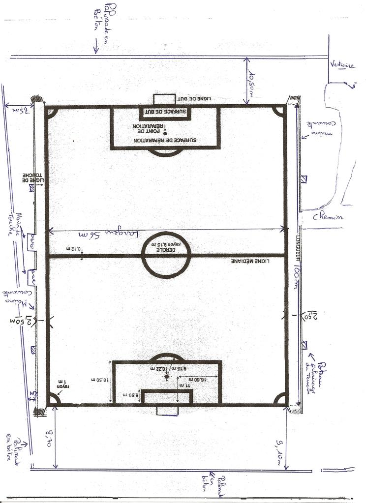 terrain stade municipal de st trivier de courtes club football union sportive haute bresse. Black Bedroom Furniture Sets. Home Design Ideas