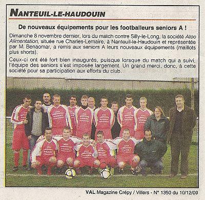 Val Magazine - Décembre 2009